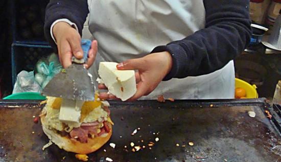 The most disgustingly decadent sandwich in San Miguel de Allende.