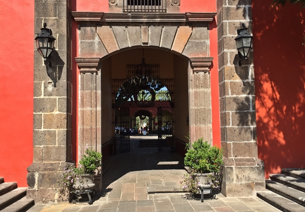 hacienda archway entrance