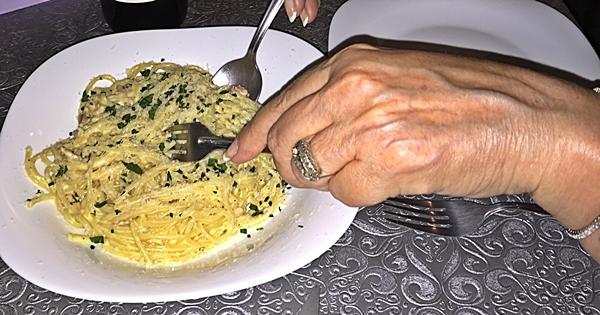 osteria spaghetti