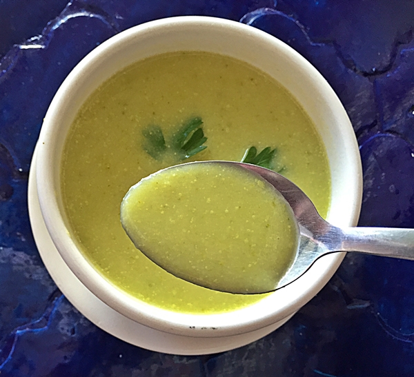 sabores soup closeup