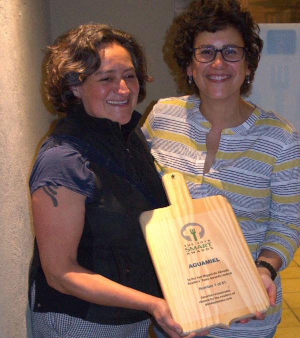 Celebrating San Miguel de Allende's top ten restaurants of 2016.