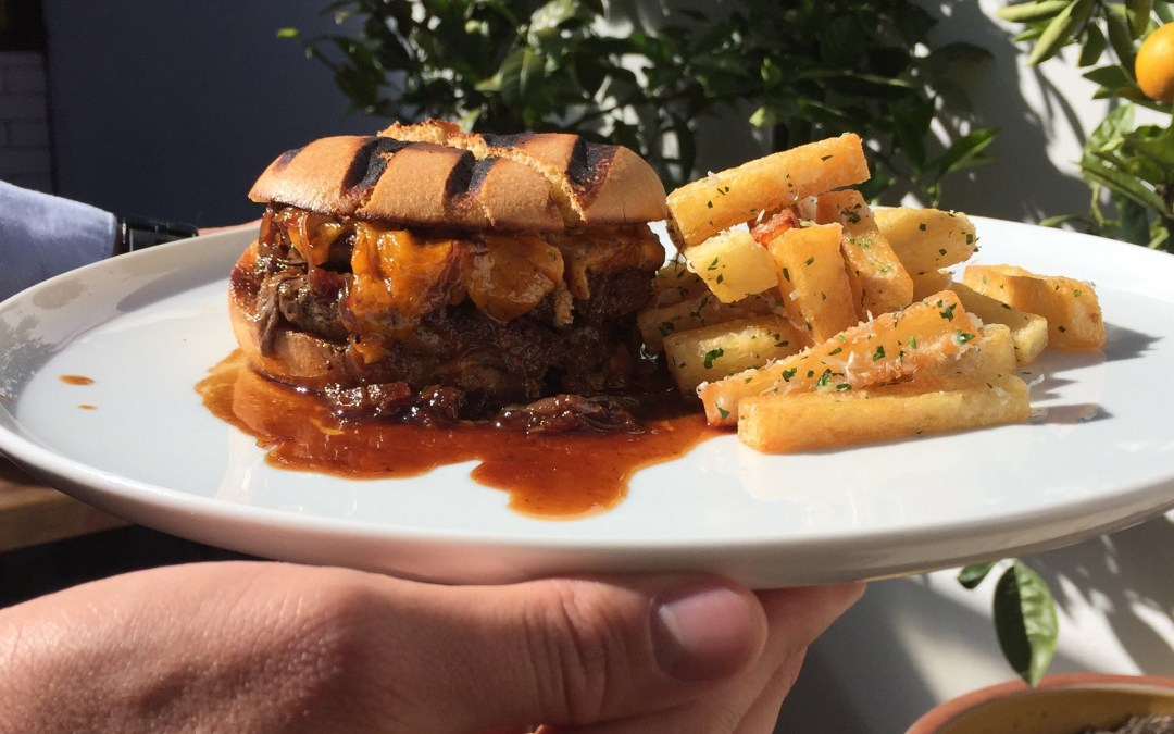 Is the town's most expensive hamburger really worth it?