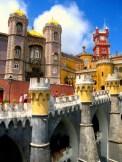 Castillo da Pena, Sintra, Portugal. EUROPA