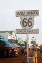 Punto Final Ruta66. Santa Mónica, L.A. AMERICA DEL NORTE
