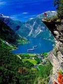 Fiordo de Geiranger o Geirangerfjord, Noruega EUROPA