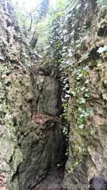Y otra de las salidas de la misma gruta