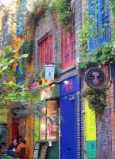 Neal's Yard en Londres. EUROPA
