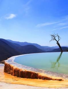 Hierve el Agua -México AMERICA