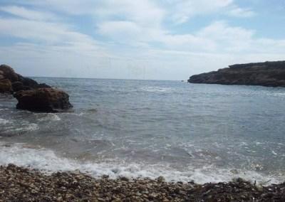 Playa de Bon Caponet,Tarragona