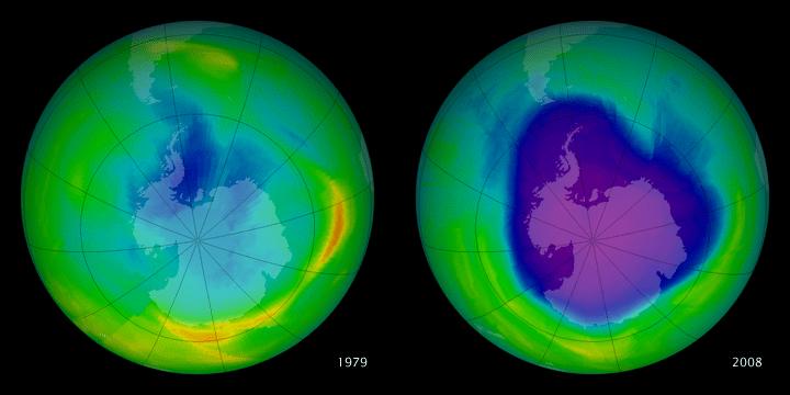 Donde se encuentra la capa de ozono