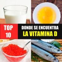 Donde se encuentra la Vitamina D