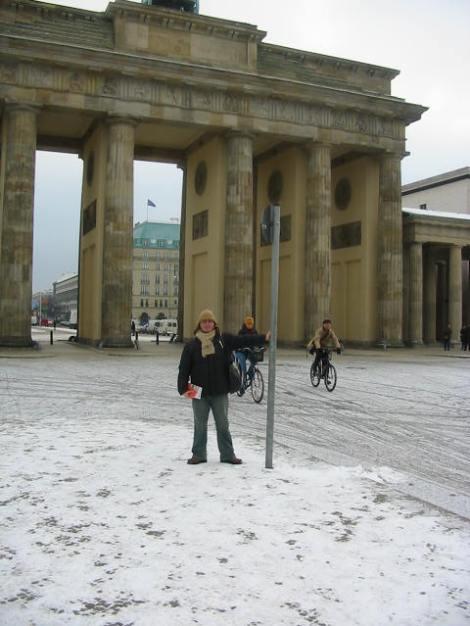 Berlin - yo en brademburgo