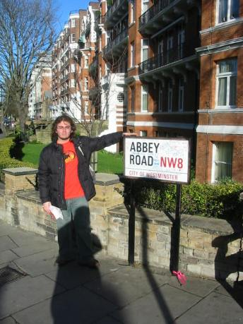 londres - yo en abbey road