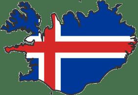 iceland_flag_map