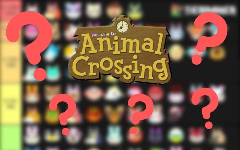 tier list des habitants les plus populaires d'Animal Crossing New Horizons