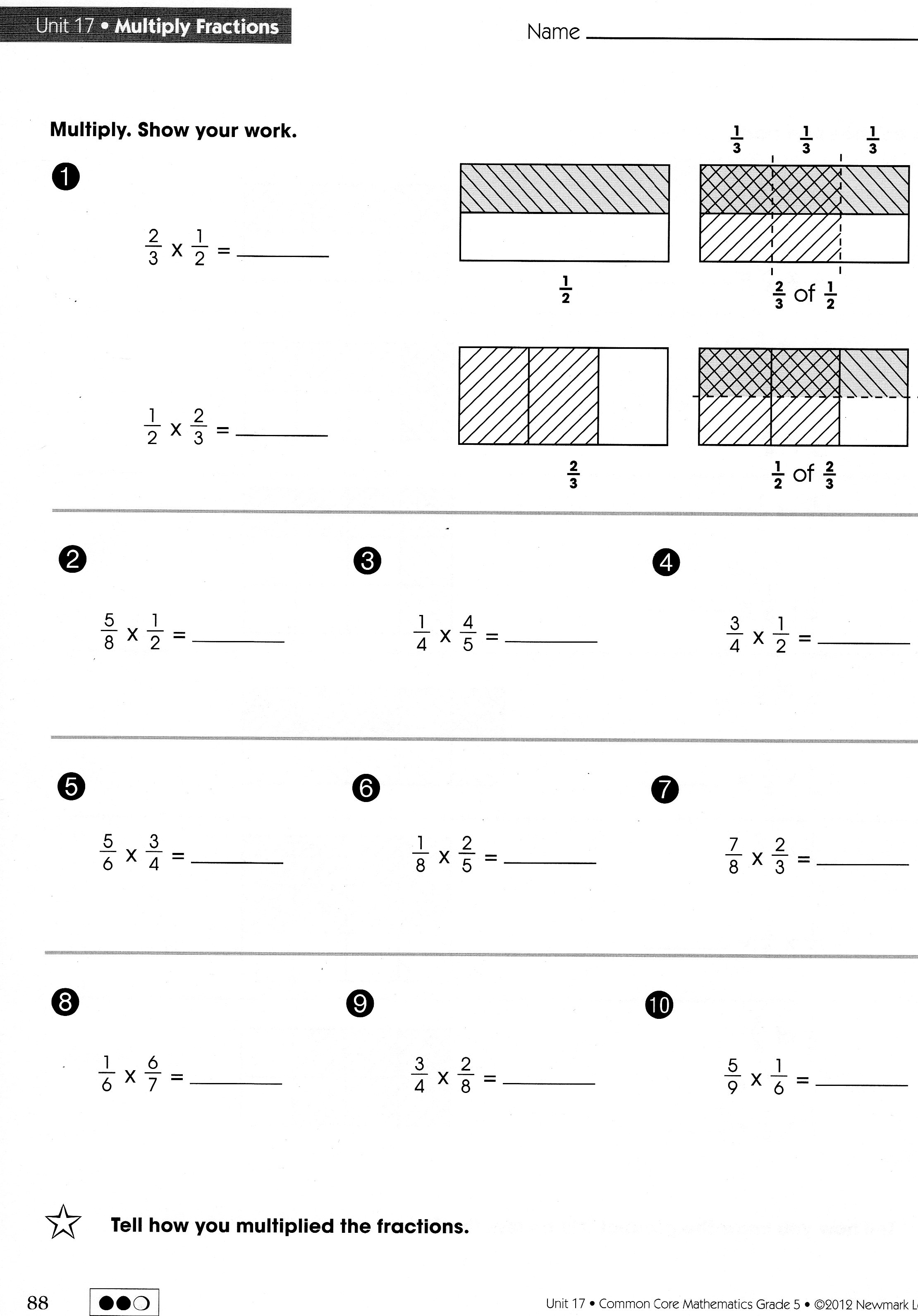 Homework Help With Subtracting Fractions