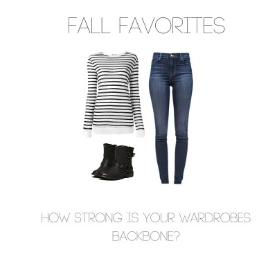 Basics: How Strong is Your Wardrobes Backbone?