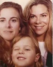 Ann, Ann, and Kate London 1993
