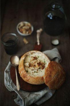 chicken & mushroom soup