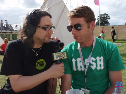 peter donegan with peter vamos of phantom 105.2fm
