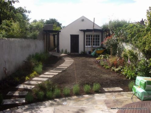 landscaping in progress (1)