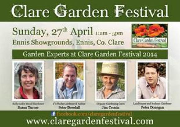 clare garden festival, garden speakers, peter donegan