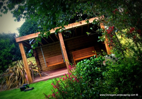 hand made, garden structure and seating, dublin