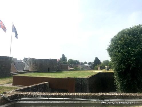 Chateau de Péronne, roof view (4)