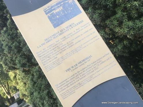 Monument aux Morts, Peronne (3)