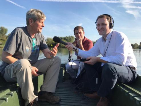 Brendan Little, Alexandre Lefevre, David Maxwell, BBC Radio Ulster