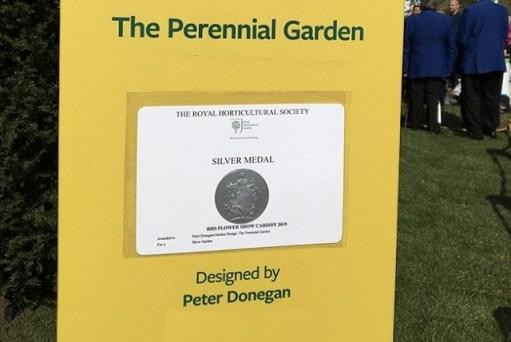 Peter Donegan RHS, cardiff garden