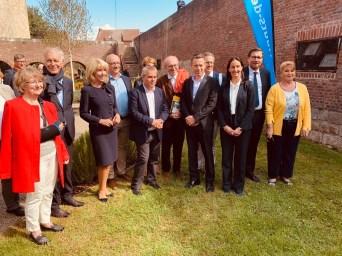 2019 Irish peace garden inauguration, jardin peronne historial