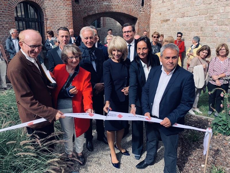 2019, irish peace garden inauguration, france