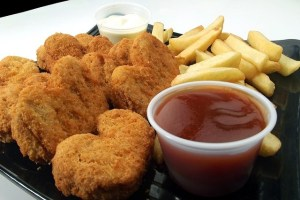 chicken nuggets processed foods
