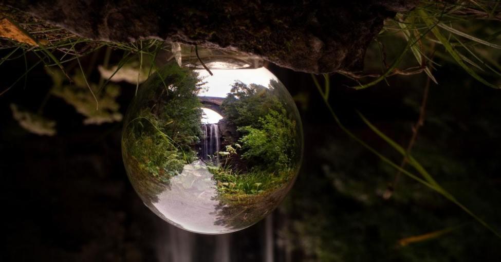 Energy Healing crystal ball