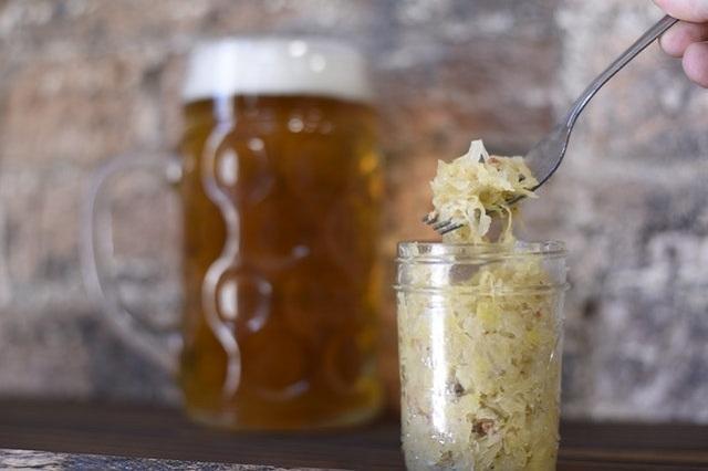 Sauerkraut probiotics foods
