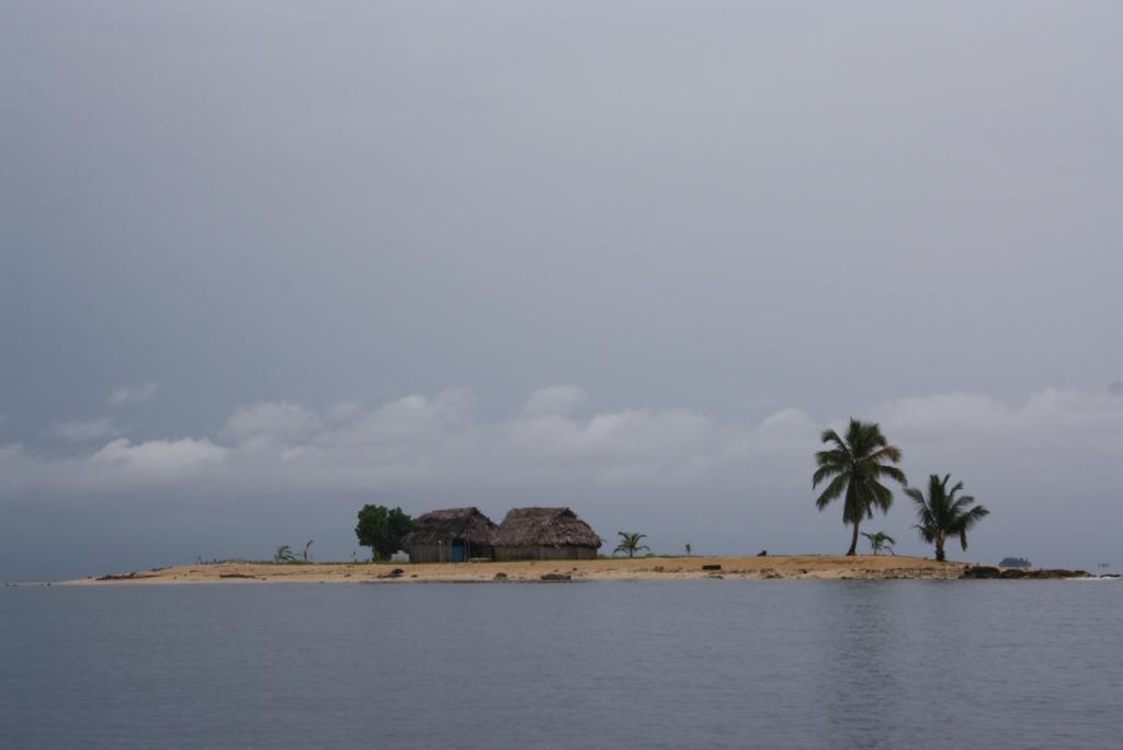 una de les illes de Kuna Yala