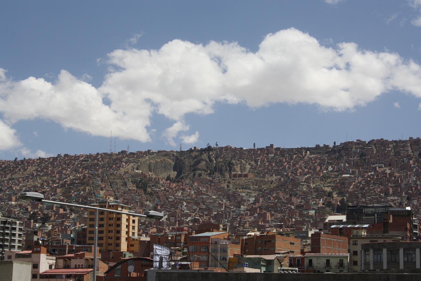 La Paz i milions de casetes