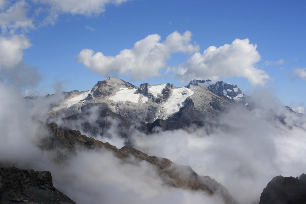 La Cumbre a 4.890 metres d'alçada