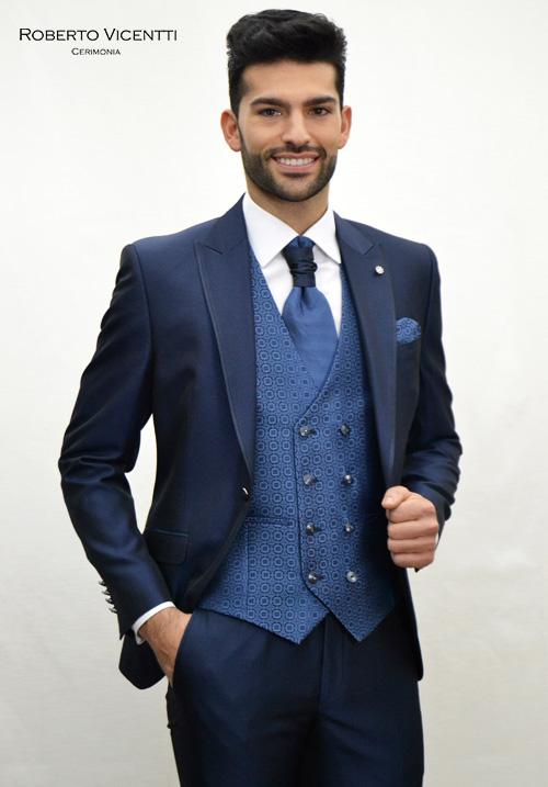 Colección de trajes de novio de Roberto Vicentti