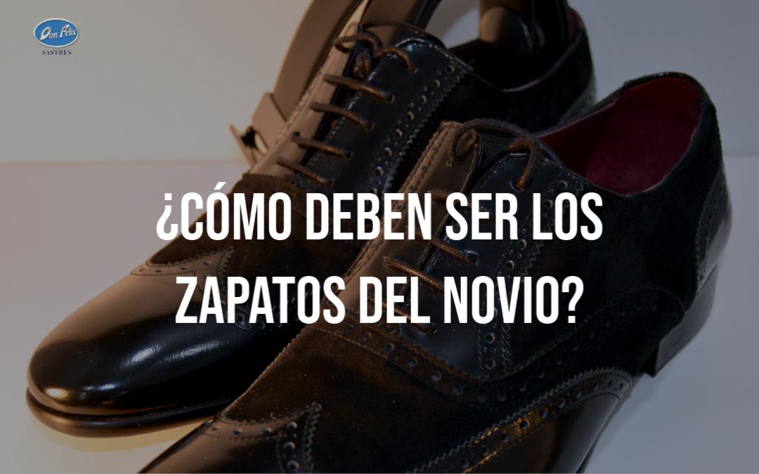 como deben ser los zapatos del novio