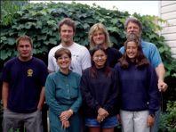 Gayton-Harris family in 2000