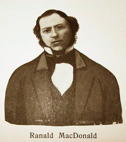 Ranald MacDonald - 1853