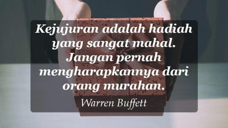 Mutiara Kata Kata Bijak Warren Buffet
