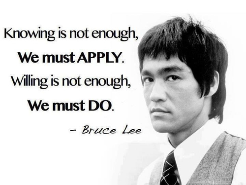 Kata Kata Mutiara Hati Bijak Bruce Lee