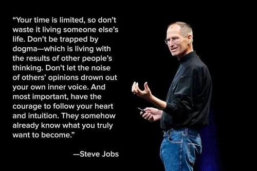 Mutiara Kata Bijak Terbaik Dari Steve Jobs