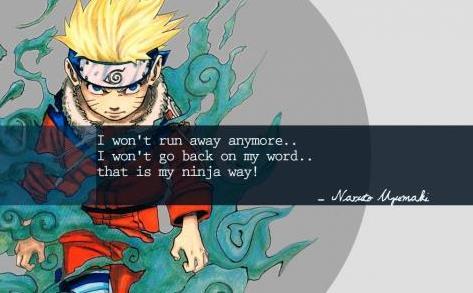 Kata Kata Mutiara Uzumaki Naruto