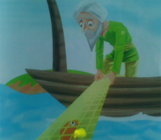 dongeng ikan mas pengabul permintaan