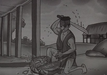 Cerita Dongeng Nusantara Semangka Emas