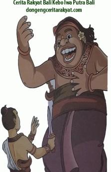 Cerita Rakyat Bali Kebo Iwa